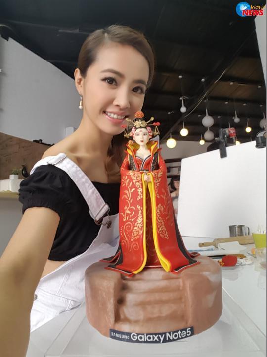 妞快報:姐的極限到底在哪裡?Jolin最新武則天蛋糕再創新神話 | 名人娛樂
